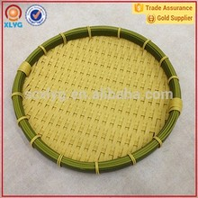 Cheap ecofriendly plastic/bamboo/wicker basket for bread and food display