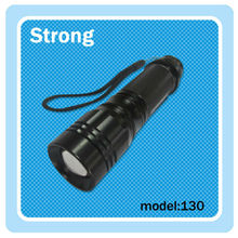 Rechargeable high power LED zoom flashlight; led hunting torch