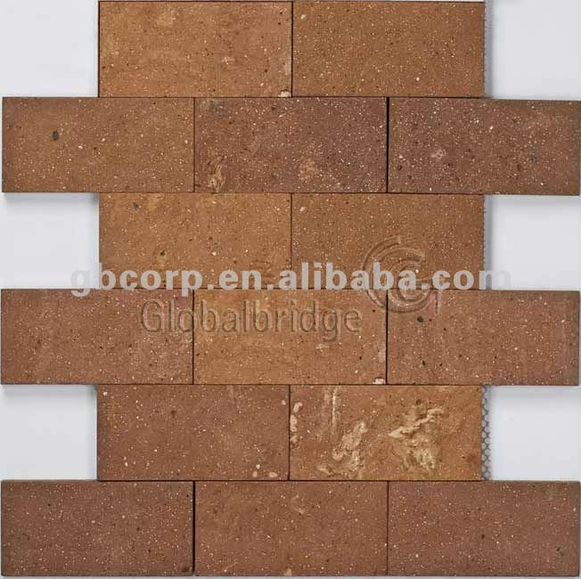 Decorative Brick Wall Tile, Brick look wall tile, Red Brick (TRS07)
