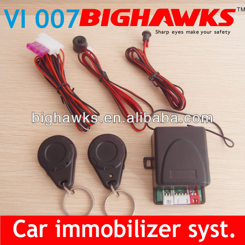 engine immobilizer VI007 security system car engine circuit power cut off rfid