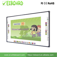 "China Educational 96"" 4 touch optical interactive electronic whiteboard for smart class"