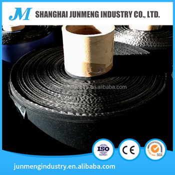 Black HDPE Strength Film, the surface membrane of the asphalt waterproofing membrane