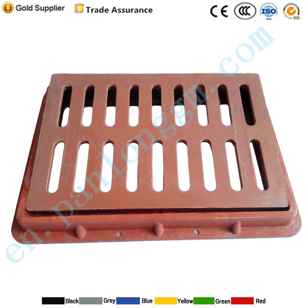 water gully grating plastic trench cover/trench drain grating cover