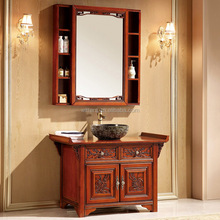 WTS-828SYO Contemporary Asian Style Bathroom Asian Bathroom With Oriental Bathroom furniture