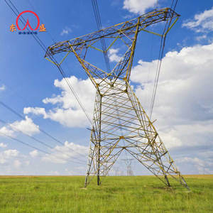 110kv 132kv power conical steel tubular pole china suppliers electricity transmission line tower
