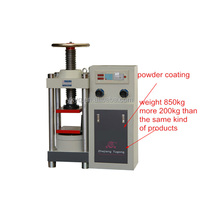 STYE-2000/1000 Digital Display Hydraulic Bending Crush Strength Tester Machine/Concrete Compression Testing Machine price