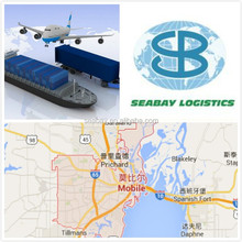 High competitive air freight service china to Mobile