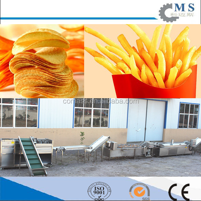The Best fresh potato chips making machine crisp product line