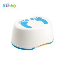 Kids Best Friend Boys Blue Potty Step Stool Girls Pink Step Stool Anti-Slip Top and Bottom step stool