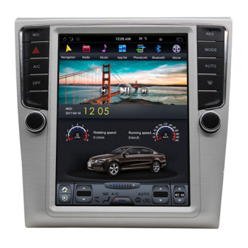 "10.4"" Vertical Screen For VW Magotan Tesla style Navigation GPS Autoradio Head unit Android 7.1 2G Ram 32G Rom"