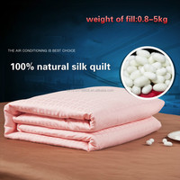 China Supplier Silk Quilt/100% Pure Silk Quilt OEM Customized( Fill 4.5 kg)