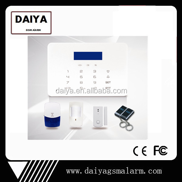 DAIYA New notifier fire alarm with gsm+ pstn function DY-XPLCD