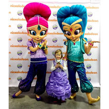 Shimmer and Shine Mascot Costume