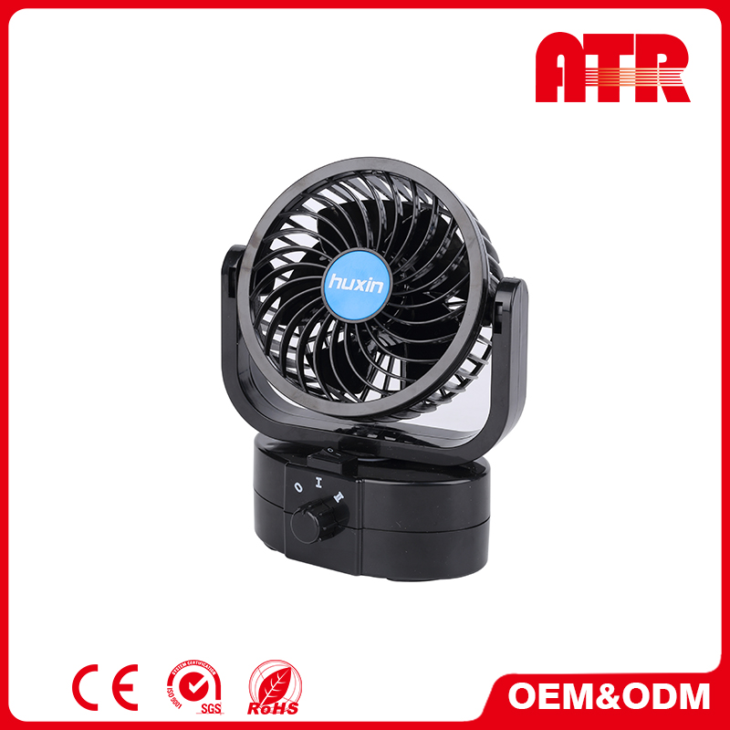 All round adjustment portable cheap electric car fans interior
