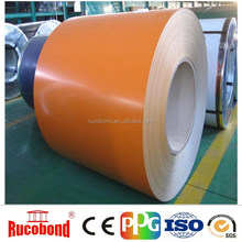 Competitive 3003 alloy roofing color coated PVDF Aluminum coil for outside