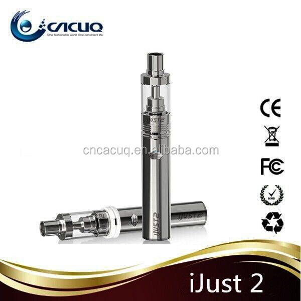 2015 Alibaba wholesale ijust2 starter kit, 5.5ml tank 2600mah big capcity battery eleaf ijust2