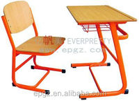 Standard Classroom Single Desk and Chair School Table and Chair