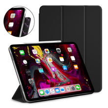 Smart Auto Wake Sleep Slim Lightweight Magnetic Attraction Case for iPad Pro 11 with Apple Pencil Magnetically Attach Charge