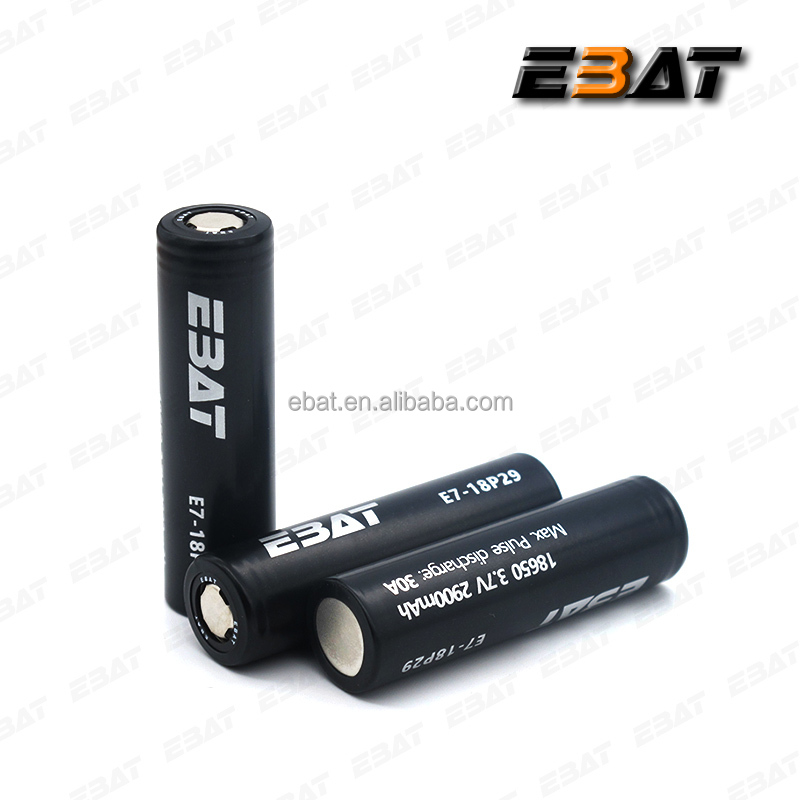 In stock 100% authentic 35a EBAT 2900 mah imr 18650 high drain china dewalt power tools