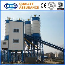 chane machine self loading wet stationary concrete mix plant
