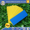 expanded polystyrene foam sheets yellow customized
