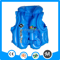 2014 Stocking swimming products PVC inflatable life vest
