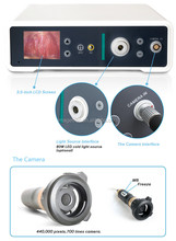 endoscope camera for rigid scope and flexible scope