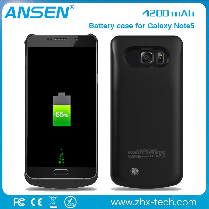 4200mah battery charger case for galaxy note 4 portable Backup Battery Charger Case For samsung LED display