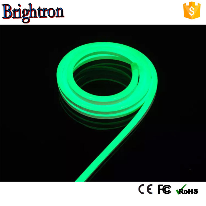 christmas led light Yellow SMD2835 Ultra thin led neon light stick Double side Neon Light used neon bar signs for sale