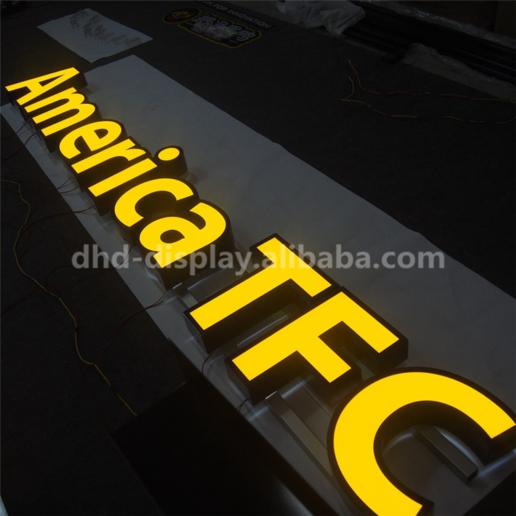 high quality new arrival clear acrylic alphabet letters China manufacturer