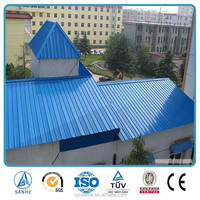 Zink Corrugated Color Coated Metal Roofing Sheets ppgi roofing