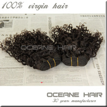 China wholesale pure cheap human wet and wavy clip in hair extensions