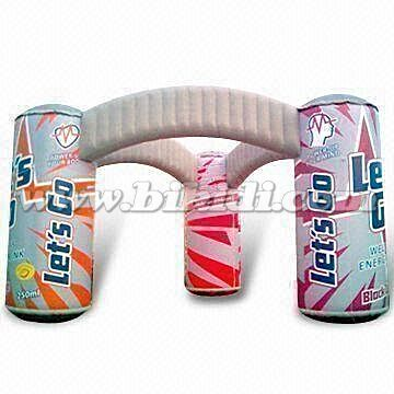 Unique design advertising archway inflatable entrance arch K4073