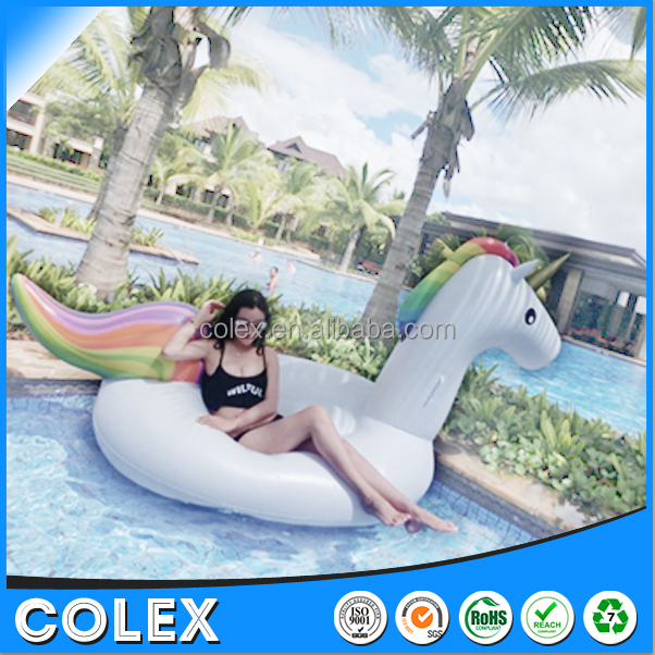 2017 Giant Inflatable Unicorn Pool Float Swim Toy Floatie For Sale