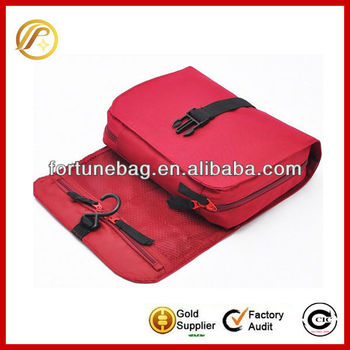 High quality roll up toiletry bags