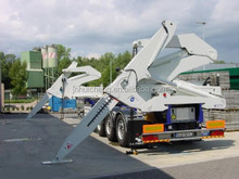 3Axle 20'' or 40'' Self-loading Container Trailer (remote control optional)