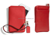 Leather Mobile Case with Cards pocket