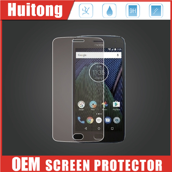 cover glass strengthened tempered glass screen protector for MOTO G5