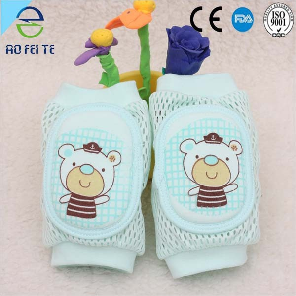 Children summer breathable mesh baby crawling toddler knee pads Protect