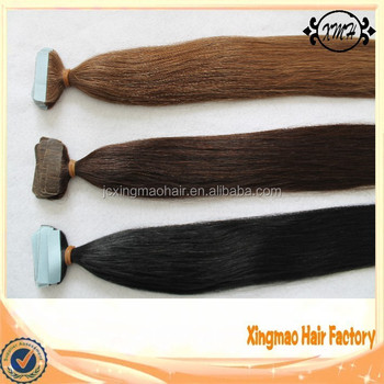 Top Quality Healthy Wholesale Hair Double Drawn Remy Human Hair Skin Weft European Remy Tape Hair Extension