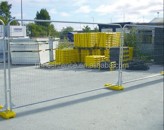 2016 Hot sale! UK Market Round Top Anti Climb Heras Temporary Fencing Panel