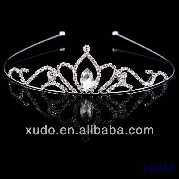 fashion handmad beauty pageant crown wholesale