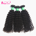 Curls Stay Long Tangle Free Deep Curly Hair Bundles, Unprocessed with Chemical Cuticle Aligned Raw Peruvian Hair Weaving