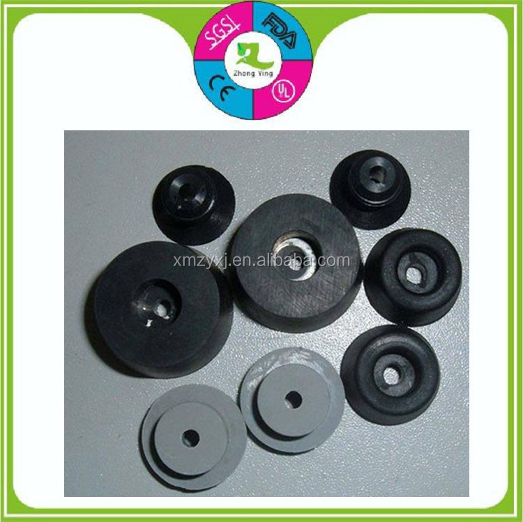 custom NBR automotive parts machine silicon rubber damper wear resistant bushing