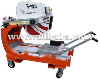 GHELFI DRAGON stone block saw machine