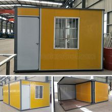Durable Easy assembled cheap prefab security cabin for personnel living