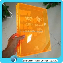 Multifunctional Tabletop Clear Acrylic File Organizer
