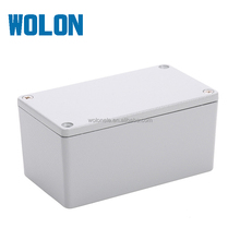 Custom IP66 Small Enclosure Aluminum Box Waterproof Junction Control Box