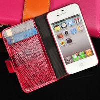 New product arrival pu leather wallet style case for iphone 5s 5c