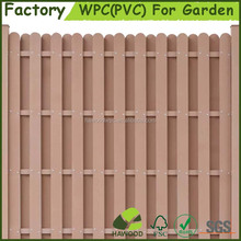 Wood Plastic Composite Privacy Garden Fence Panel